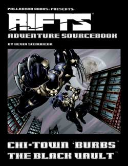 Rifts Adventure Sourcebook Three: The Black Vault